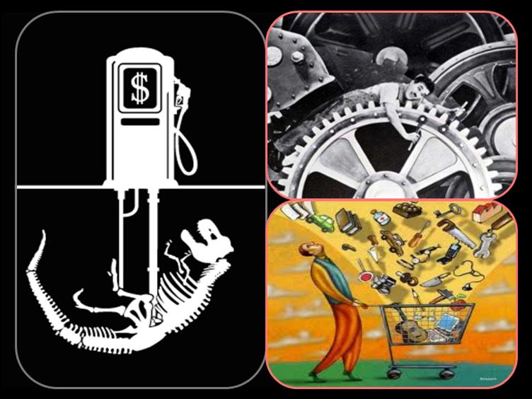 Fósiles-productivismo: una parejaexplosiva