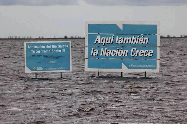 LOS APUNTES DE MANUEL LUDUEÑA: Inundaciones ¡Para muestra, alcanzan 2botones!