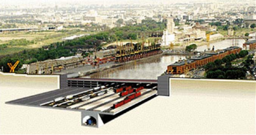 LOS APUNTES DE MANUEL LUDUEÑA: La Estación Obelisco y la Ribereña: megaobras de la década dorada de losautomóviles.