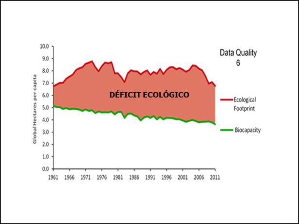 DEFICIT ECOLOGICO USA